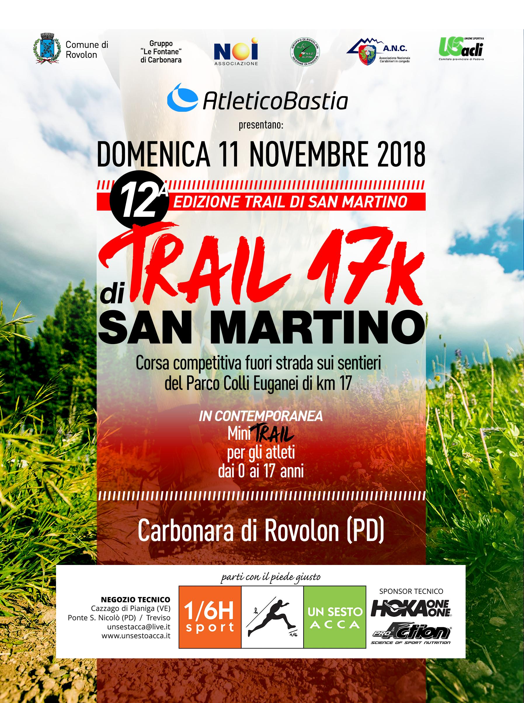 Volantino Trail di San Martino