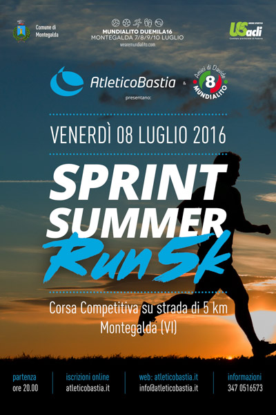 Volantino Sprint Summer RUN5K