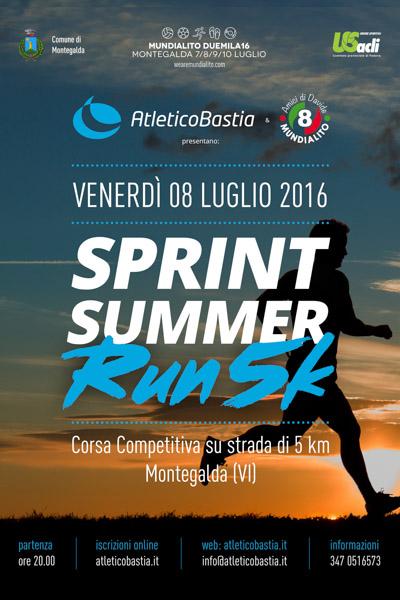 Volantino Sprint Summer RUN5K
